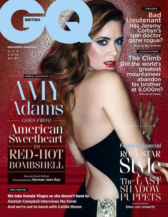 Емі Адамс для GQ UK