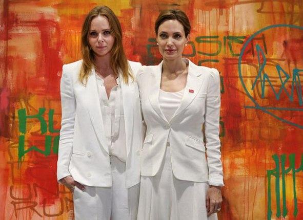 Стелла МакКартни и Анджелина Джоли объединили усилия ради детей