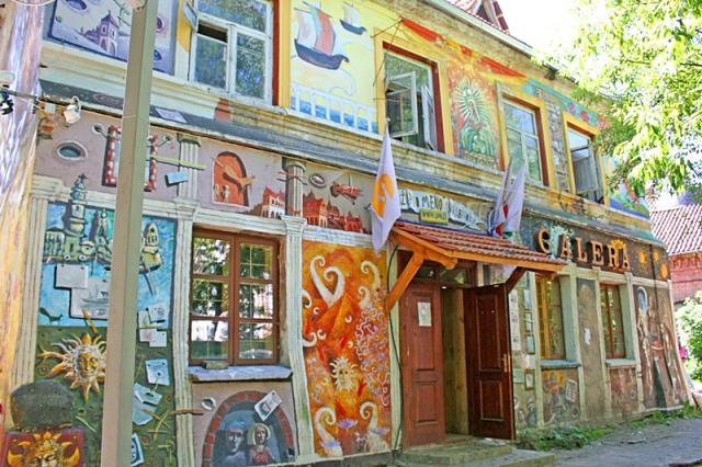 Достопримечательности Вильнюса: район Ужупис