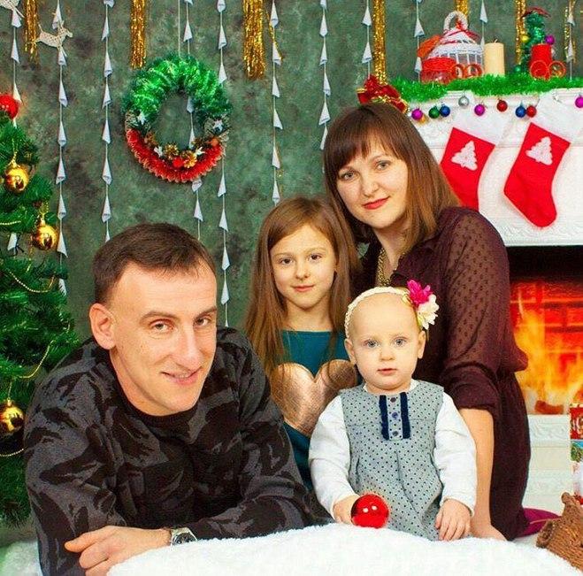 Семья брата Леси Никитюк