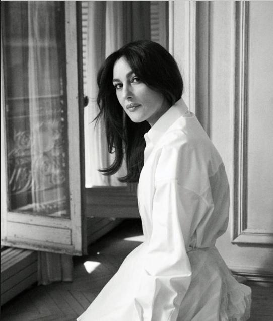 Моніка Белуччі для французького ELLE