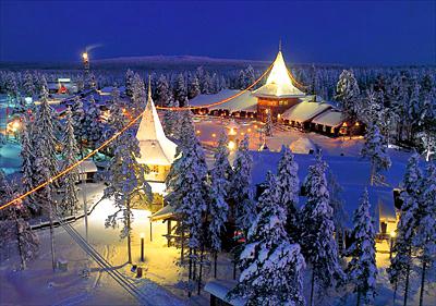 Адрес Деда Мороза