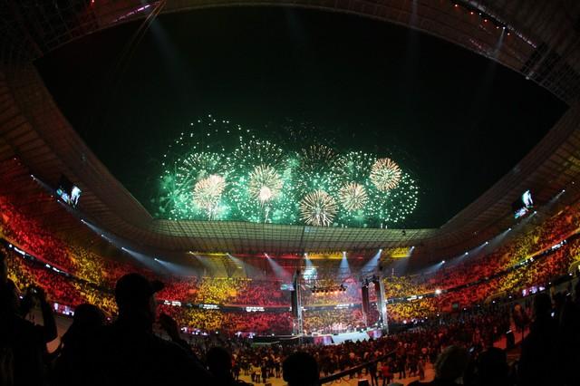 """Открытие стадиона """"Арена-Львов"""""""
