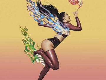 Саша Самсонова, японский художник и Кайли Дженнер сняли потрясающую фотосессию