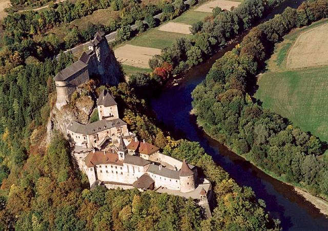 Самые страшные замки в мире: Оравский замок