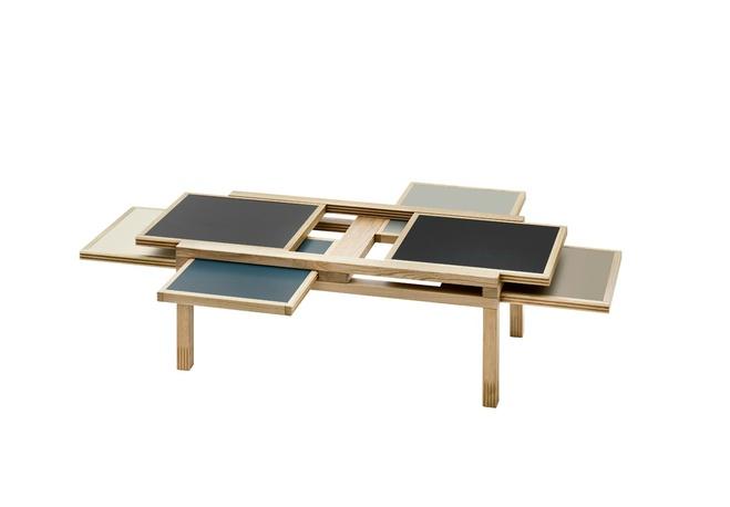Серія столів Hexa, дизайн - Бернард Вуарнессон (Bernard Vuarnesson)