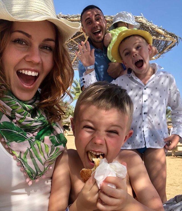 Alyosha и Тарас Тополя с детьми
