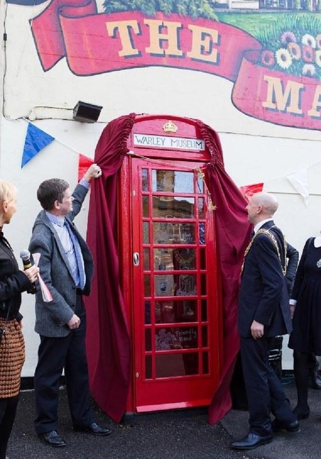 В Британии открыли самый маленький музей в мире