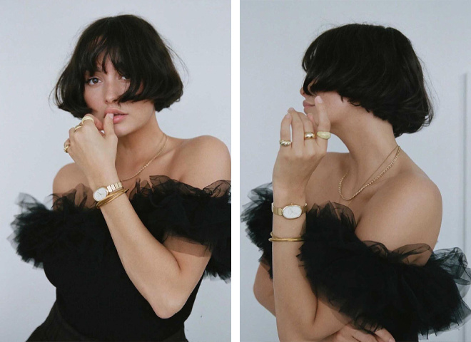 Бокс-боб — новая модная стрижка для придания волосам объема