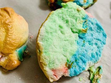 Простой рецепт воздушного десертного хлеба