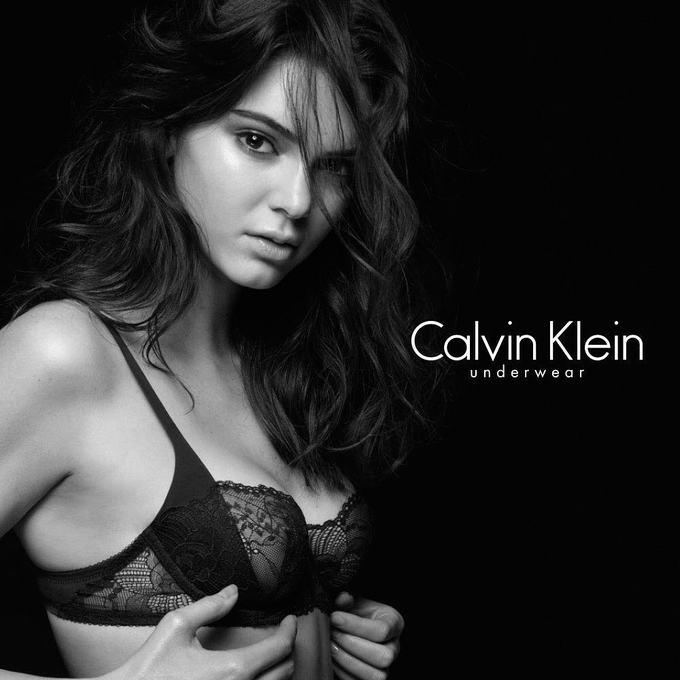 Кендалл Дженнер опубликовала откровенное фото для Calvin Klein
