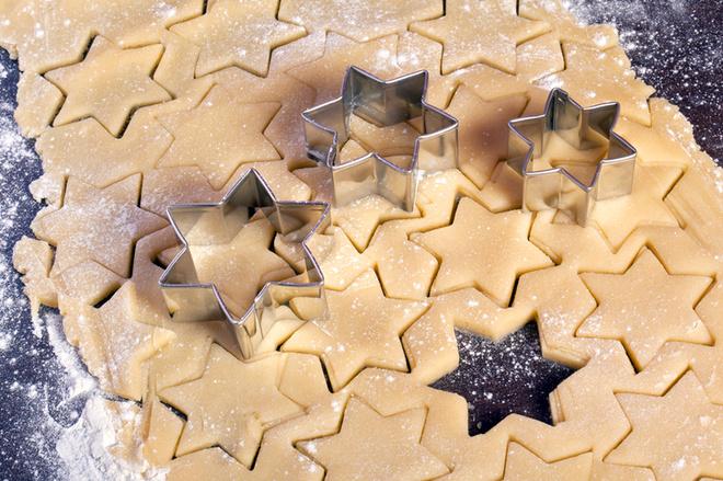 """Новый год 2016: рецепт новогоднего печенья """"Елочка"""""""