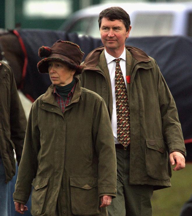 Принцесса Анна и Тим Лоуренс