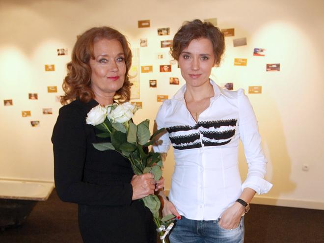 Ирина Алферова и ее дочь - актриса Ксения Алферова