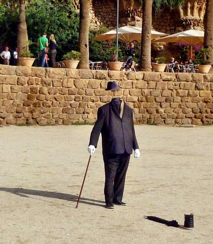 Живые скульптуры: Испания