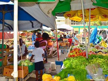 Топ 5 вуличних ринків: Ринок «Castries Market» - Сент-Люсія