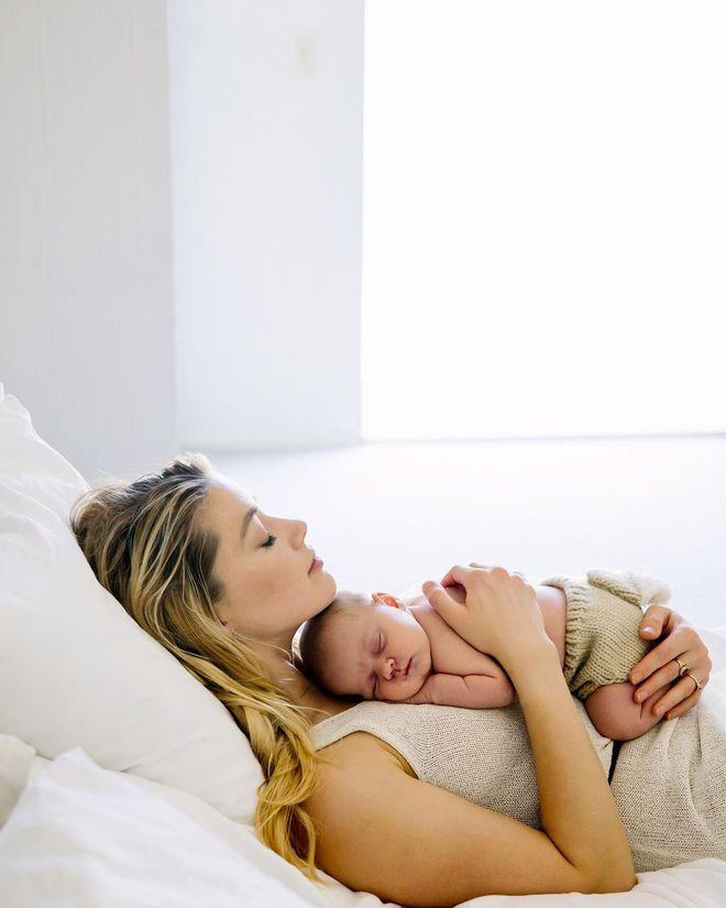 Ембер Херд з донькою