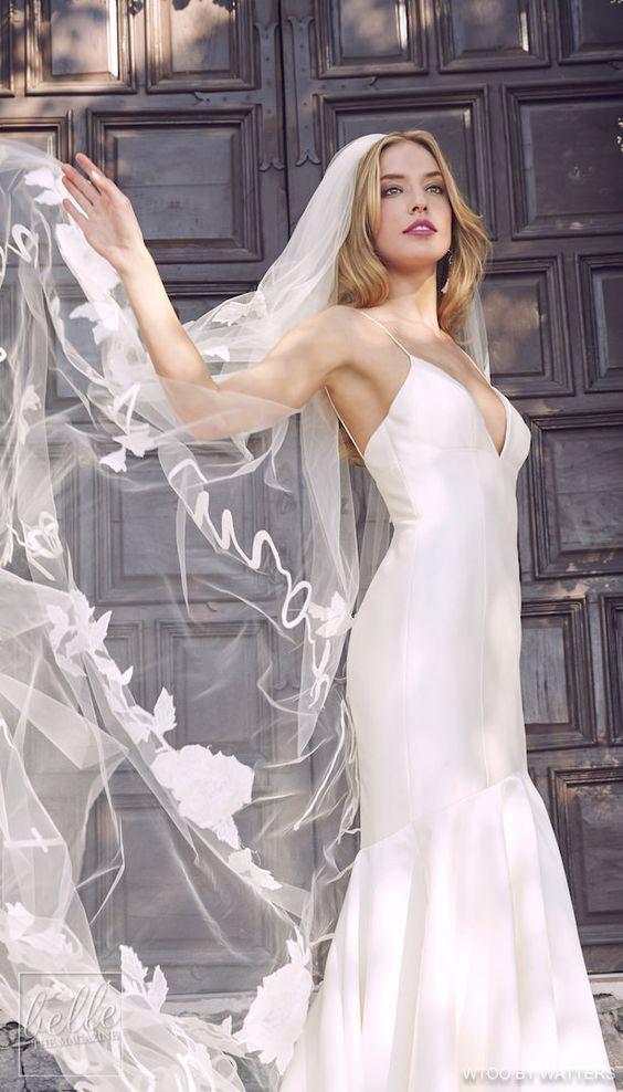 Фата на свадьбу: 15 красивых вариантов