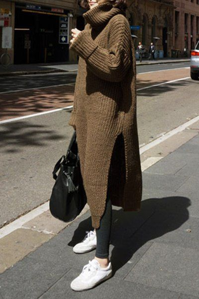 Как носить платье зимой
