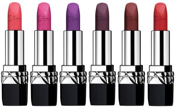 Игра цветом  Dior выпустил помады в экстремальных оттенках - tochka.net 9a1d5f5f887