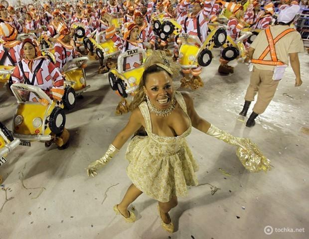 Бразилія Фото: Бразильський карнавал