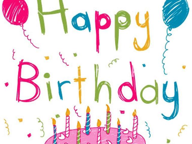Как подписать открытку на английском с днем рождения