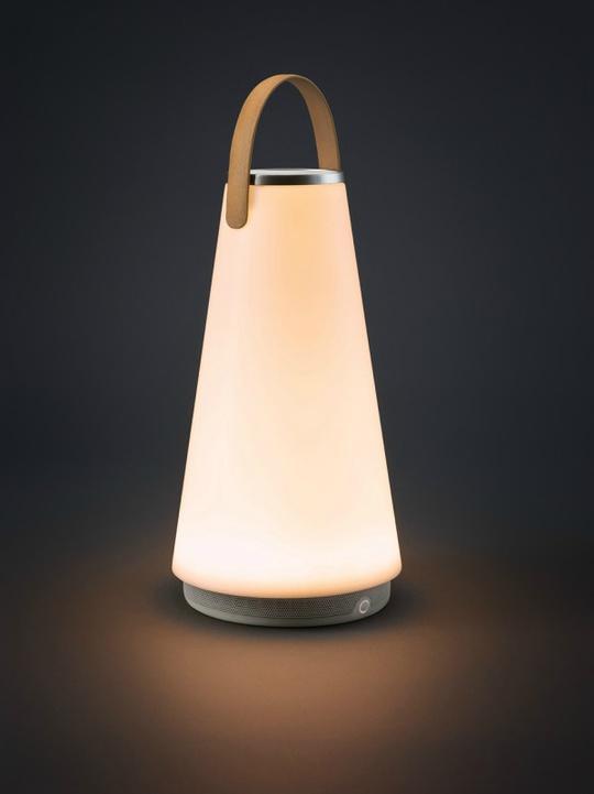 портативный светильник с динамиком