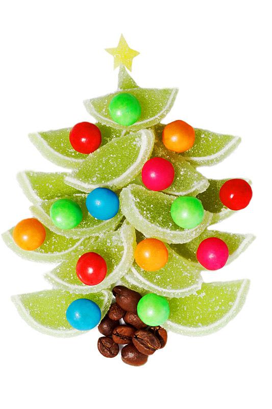 Как сделать елку из конфет