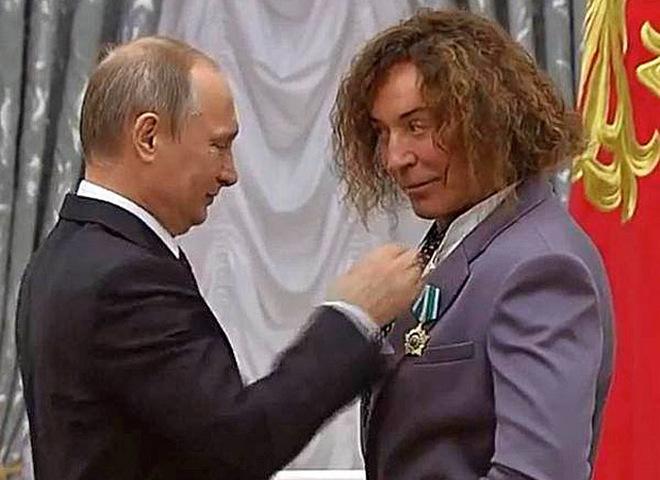 Володимир Путін і Валерій Леонтьєв