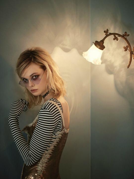 Эль Фэннинг для Vogue Australia