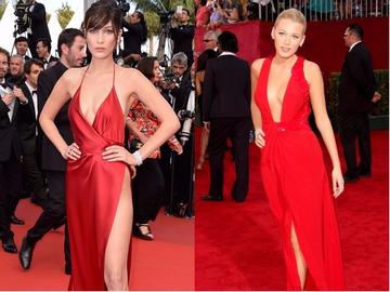 Легендарные красные платья звезд