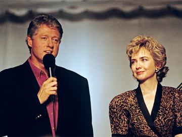 Хілларі Клінтон і Білл Клінтон