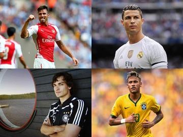 Сексуальные мужчины: Топ-5 самых красивых футболистов