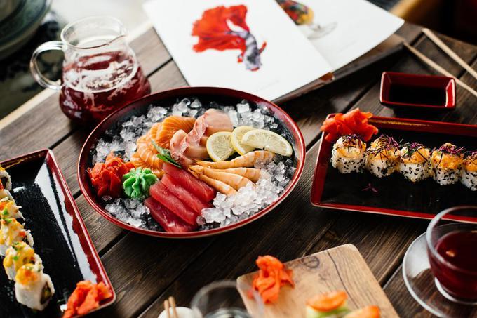 Какие блюда японской кухни в Киеве пользуются наибольшим спросом?