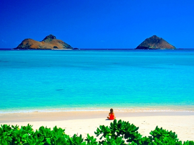 Где тепло зимой: Ланика, Гавайи