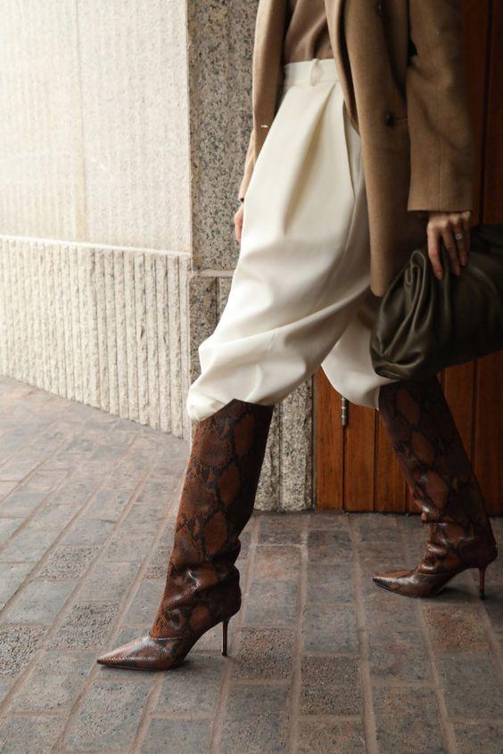 Широкі штани з чоботами