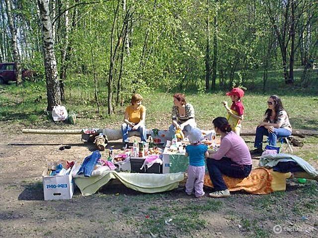 ТОП-5 місць у Києві для ідеального пікніка