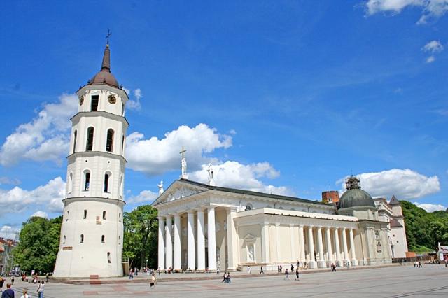 Достопримечательности Вильнюса: Кафедральный Собор