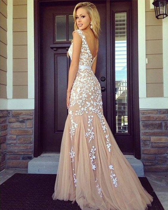 Довгі сукні на випускний