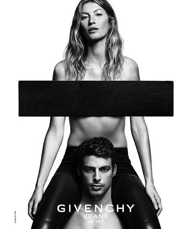 Жизель Бюндхен в кампейні Givenchy Jeans 2016