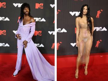 Lil Nas X та Меган Фокс на MTV Video Music Awards 2021