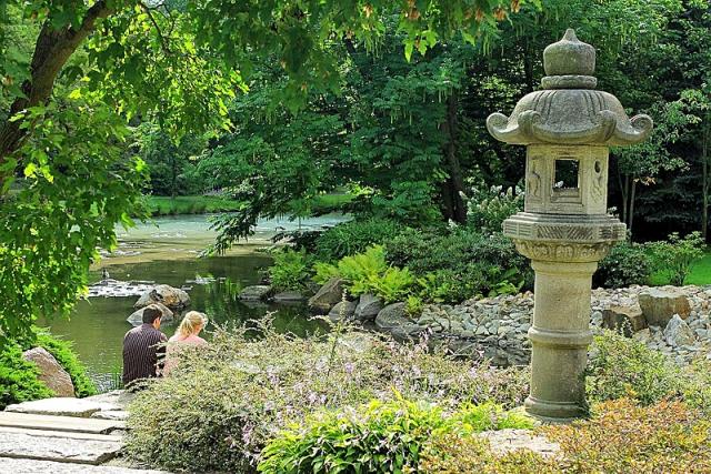 Японский сад в Вроцлаве