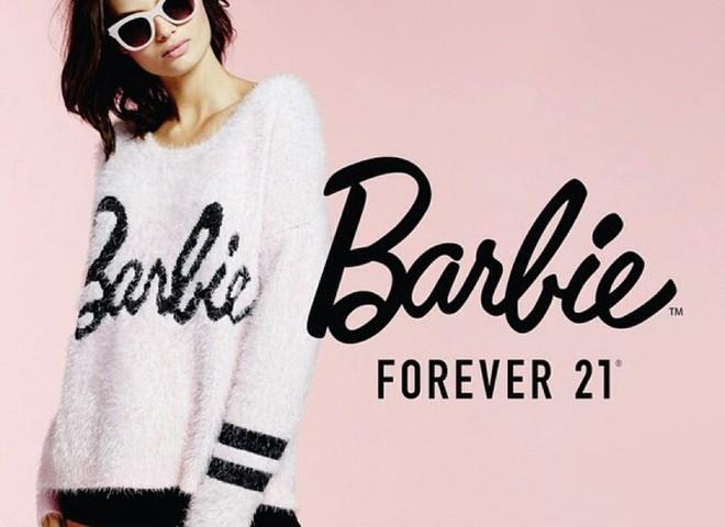 Модная коллаборация Forever 21 и Barbie