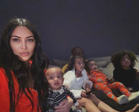 Кім Кардашьян та її родина