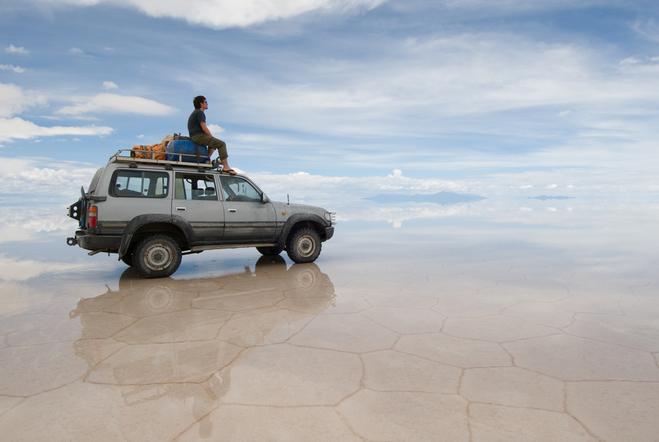 Чудеса природы: Солончак Уюни, самое большое соленое озеро в мире