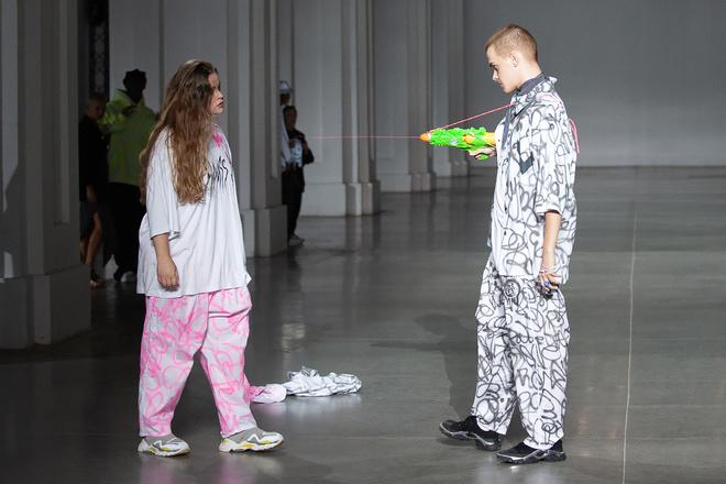 Женя Гончаренко на Ukrainian Fashion Week