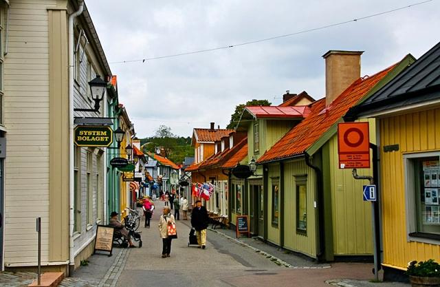 Разноцветные города мира:  Сигтуна, Швеция