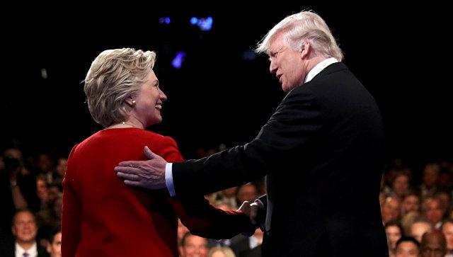 дебаты Клинтон и Трампа