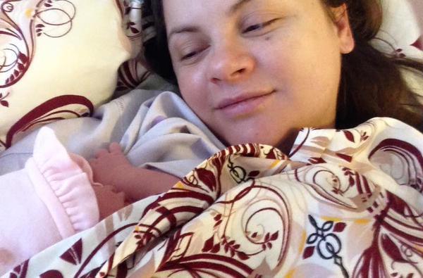 новорожденная дочь Николаева