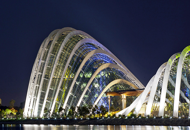 оранжереї Сінгапуру